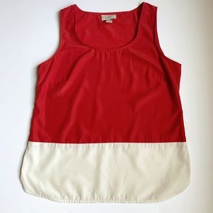 Ann Taylor LOFT Color Block Tank Top